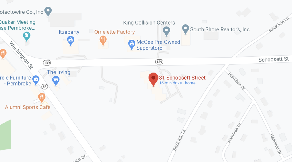 Schoosett-Street-map